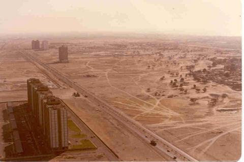 دبی در  سال 1990