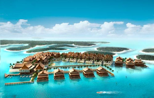 dubai world islands. Thailand Island – The World
